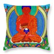 Namo Amitabha Buddha 16 Throw Pillow