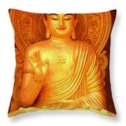 Namo Amitabha Buddha 36 Throw Pillow