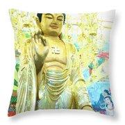 Namo Amitabha Buddha T 37 Throw Pillow
