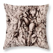 Nan Dungortheb Detail Throw Pillow by Rachel Christine Nowicki