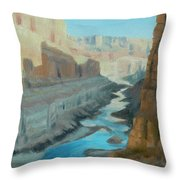Nankoweap Canyon Throw Pillow