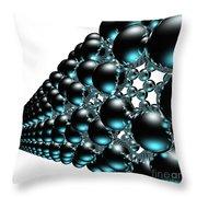 Nanotube #19 Throw Pillow