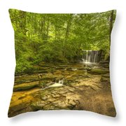 Nant Mill  Throw Pillow
