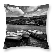 Nantlle Uchaf Boats Throw Pillow
