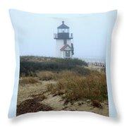 Nantucket Brant Point Light Throw Pillow