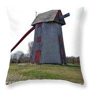 Nantucket Old Mill Throw Pillow