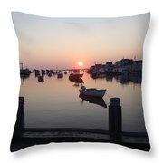 Nantucket Sunrise 1 Throw Pillow