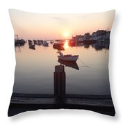 Nantucket Sunrise 2 Throw Pillow