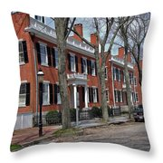 Nantucket Three Sisters Throw Pillow