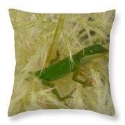 Nap Time Throw Pillow by Ella Char
