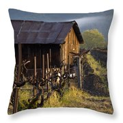 Napa Morning Throw Pillow