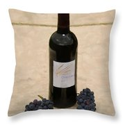 Napa Still Life Throw Pillow by Paul Tagliamonte