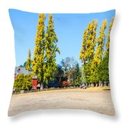 Napa Working Farm Throw Pillow