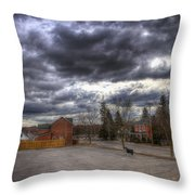 Napanee Sky Easter Throw Pillow