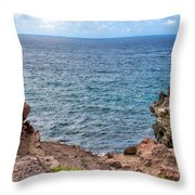 Napili 63 Throw Pillow