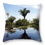 Naples Botanical Garden  3083 Throw Pillow