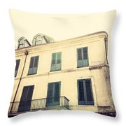 Napolean House Throw Pillow