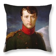 Napoleon Bonaparte Premier Consul Throw Pillow