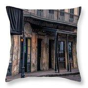 Napoleon House In French Quarter Throw Pillow