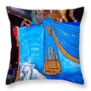 Napoleon Rides  Throw Pillow