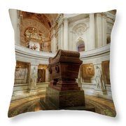 Napoleon's Tomb - A Different View  Throw Pillow
