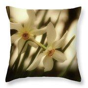 Narcisi Throw Pillow