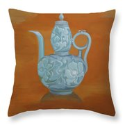 Narcissism And Loneliness 3 Throw Pillow by Tingting Su
