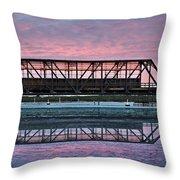 Narooma Bridge Throw Pillow