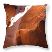 Narrow Canyon Iv Throw Pillow