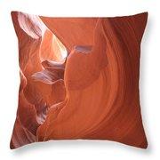 Narrow Canyon Xi Throw Pillow
