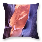Narrow Canyon Xii Throw Pillow