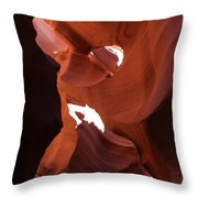Narrow Canyon Xiv Throw Pillow
