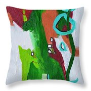 Narrow Escape Throw Pillow