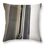 Narrow Passages Throw Pillow