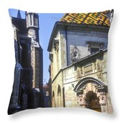 Narrow Passageway  Throw Pillow