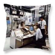 Nasa Research 1996 Throw Pillow