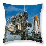 Nasa Space Shuttle Throw Pillow
