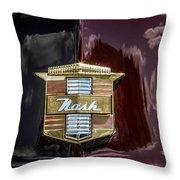 Nash Insignia Throw Pillow