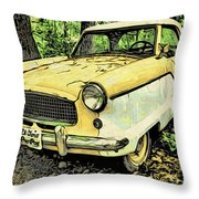 Nash Metropolitan Throw Pillow