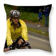 Nashua Sprint Y-tri 14 Throw Pillow