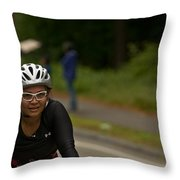 Nashua Sprint Y-tri 188 Throw Pillow
