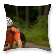 Nashua Sprint Y-tri 250 Throw Pillow