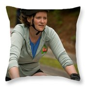 Nashua Sprint Y-tri 56 Throw Pillow