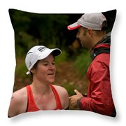Nashua Sprint Y-tri 72 Throw Pillow