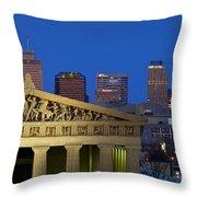 Nashville Parthenon Throw Pillow