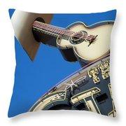 Nashville Tennesee Throw Pillow