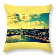 Nassau The Bahamas Throw Pillow