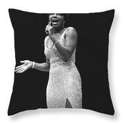 Natalie Cole Throw Pillow