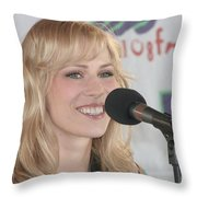 Natasha Bedingfield Throw Pillow