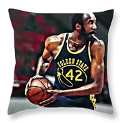 Nate Thurmond Throw Pillow